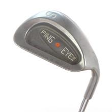 Ping EYE2 Plus S Sand Wedge Orange Dot Steel Shaft Stiff Flex 57484G