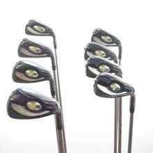 Cobra S3 Iron Set 5-P,G,S Aldila NV-3 Graphite Lite Senior Flex 57781A