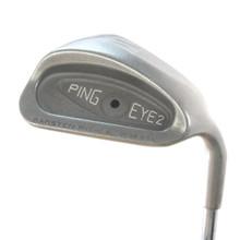 Ping EYE 2 W Pitching Wedge Black Dot Steel Shaft Stiff Flex Right-Handed 57677D