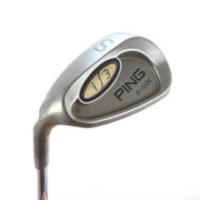 Ping i3 O-Size S Sand Wedge Brown Dot Steel Shaft Stiff Flex Left-Handed 58176G