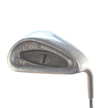 Ping EYE PW Pitching Wedge Black Dot Steel Shaft Stiff Flex Right-Handed 58298D