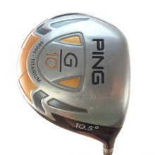 PING G10 Driver 10.5 Degrees Graphite TFC 129D Regular Flex 58382G