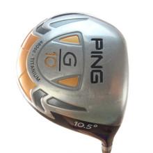 PING G10 Driver 10.5 Degrees Graphite TFC 129D Regular Flex 58382G