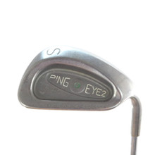 Ping EYE2 Plus S Sand Wedge Green Dot Steel Shaft Stiff Right-Handed 58516D