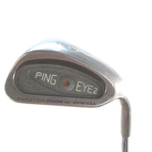 Ping EYE2 Individual 9 Iron Brown Dot Steel Stiff Flex Right-Handed 58529D