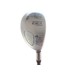 Adams Idea i-Wood 4 Hybrid 21 Degrees Graphite Shaft Senior Flex 58653A