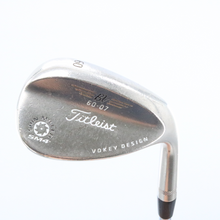 Titleist SM4 Black Nickel Vokey Wedge 60 Degrees 60.07 Steel Right-Handed 58747D