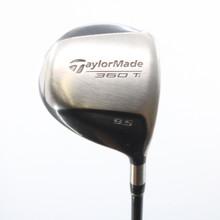 TaylorMade 360 Ti Driver 9.5 Deg Graphite Bubble Regular Flex 58764G