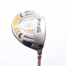 PING G10 Draw 5 Wood 18.5 Degrees TFC 129F Soft Regular Senior Flex 58825G