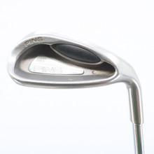 Ping G2 L Lob Wedge Orange Dot Steel Shaft Stiff Flex Right-Handed 58949D