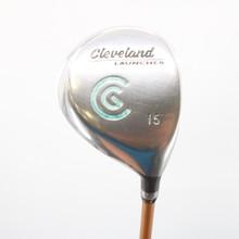 Cleveland Launcher 3 Fairway Wood 15 Deg Graphite Gold Stiff Flex 58874G
