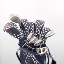 Adams IDEA A7OS Women's 11 pc Golf Club Set with Golf Bag Left-Handed 59018A