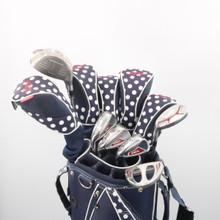 Adams IDEA A7OS Women's 11 pc Golf Club Set with Golf Bag Left-Handed 59018A