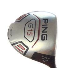 PING G15 Draw Driver 9 Degrees TFC 149D Regular Flex Right-Handed 46237A