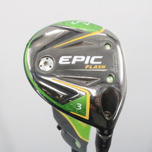 2019 Callaway EPIC Flash 3 Wood 15 Deg Even Flow Graphite Stiff Flex 59692G