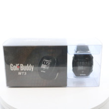 Golf Buddy WT3 GPS Watch Rangefinder w/ Manual and Battery RNG-25D