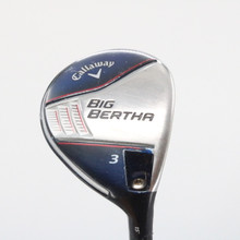 Callaway Big Bertha 3 Wood 15 Degrees Fubuki Regular Right-Handed 60081G