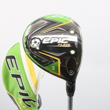 2019 Callaway EPIC Flash 3 Wood 15 Deg Even Flow Graphite Regular Flex 60328G
