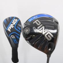 PING G30 Driver 10.5 Degrees Project X HZRDUS 6.5 X-Stiff Flex Headcover 60628A