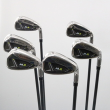 TaylorMade M2 Iron Set 6-P,A Graphite REAX 55 A Senior Flex 60673A