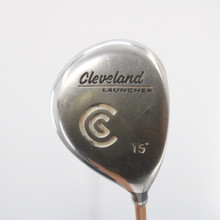 Cleveland Launcher 3 Fairway Wood 15 Degrees Graphite Gold Stiff Flex 60698A