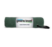 "Microfiber Greens Towel Pine Forest perfect 15""x15"" with carabiner clip GT-16416"