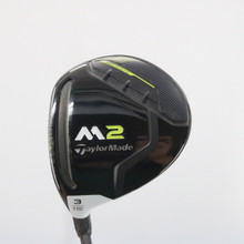 2017 TaylorMade M2 3 Wood 15 Degrees REAX 65 Stiff Flex LH 61153G