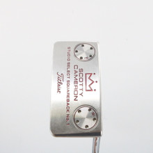 "Titleist Scotty Cameron Studio Select Squareback 1 Putter 34"" RightHanded 61478G"