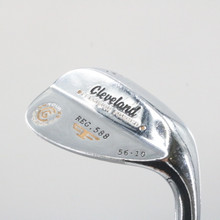 Cleveland 588 Forged Chrome Wedge 56 Degrees 56.10 Steel Right-Handed 61666D