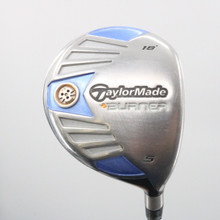 TaylorMade Burner Steel 5 Wood 18 Degrees Graphite REAX 50 Ladies Flex 61914A