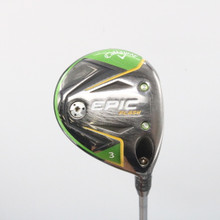 2019 Callaway EPIC Flash 3 Wood 15 Deg Even Flow Graphite Regular Flex 62057G