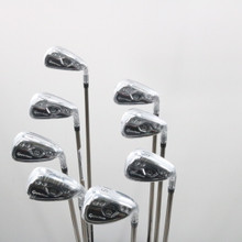 2018 TaylorMade M CGB Iron Set 5-P,A,S Graphite Recoil ES F2 Senior Flex 62099G