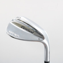 2019 Cleveland RTX-4 Tour Satin Wedge 60 Degrees 60.6 Steel Stiff Flex 62416D