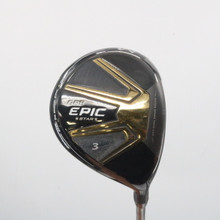 Callaway GBB EPIC Star 3 Fairway Wood 15 Degrees Bassara Senior Flex 62324G