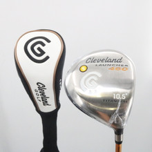 Cleveland Launcher 460 Driver 10.5 Degrees Gold Stiff Flex Headcover 62274A
