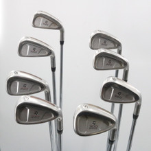 TaylorMade 320 Iron Set 4-P,S Steel Rifle S-90 Stiff Flex Right-Handed 62620A