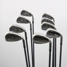 Ping G Series Iron Set 4-W,U,S Green Dot Graphite CFS 70 Regular Flex 62371G