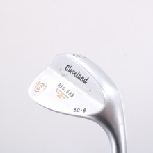 Cleveland 588 Precision Forged Satin Wedge 50 Deg 50.8 Steel Right-Handed 62554D