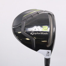 2017 TaylorMade M2 3 Wood 15 Degrees Graphite Stiff Flex Right-Handed 62718G