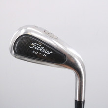 Titleist 503.H 4 Hybrid 22 Degrees True Temper Dynamic Gold Stiff Flex 62564D