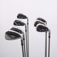 TaylorMade M4 Iron Set 5-P,A SteelFiber i95 Stiff Flex Right-Handed 62763G