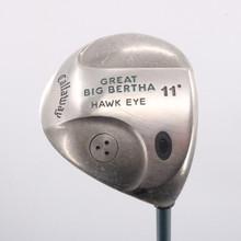 Callaway Great Big Bertha Hawk Eye Driver 11 Deg Gems Ladies Flex 62745G
