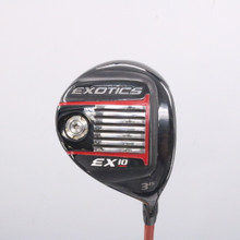 Tour Edge Exotics EX10 3 Wood 15 Degrees Tour AD Graphite Regular Flex 62887A