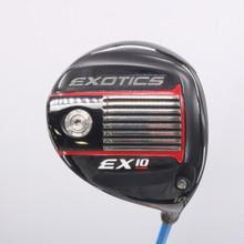 Tour Edge Exotics EX10 Driver 10 Degrees Accra Fx M3 Regular Flex 62894A