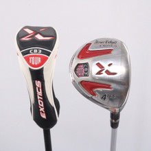 Tour Edge Exotics CB3 Tour 4 Wood 16.5 Deg Fujikura Motore Stiff Headcver 63241A