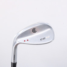 Cleveland CG10 Satin Chrome Wedge 56 Deg True Temper Steel Left-Handed 63083D