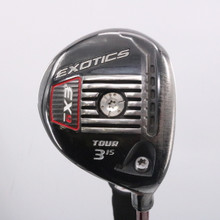 Tour Edge Exotics EX9 Tour 3 Wood 15 Degrees Graphite Stiff Flex 63507G