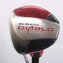 Callaway Big Bertha Diablo Draw Driver 10 Degrees Stiff Flex Left-Handed 63508G