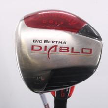 Callaway Big Bertha Diablo Draw Driver 10 Degrees Stiff Flex Left-Handed 63508G
