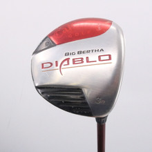 Callaway Big Bertha Diablo Draw 3 Wood 16 Degrees Senior Flex 63538G